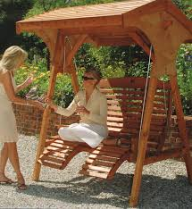 roofed comfort swing seat
