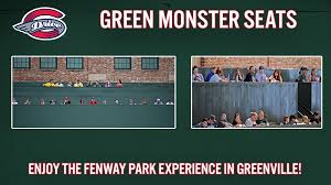 Get Your Green Monster Seats Today Greenville Drive News