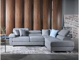apollo l shape fabric sofa with seat