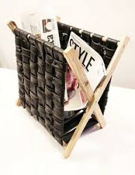 Fabric Magazine Holder How to Make a Simple Rustic Folding Magazine Rack from Wood and 78