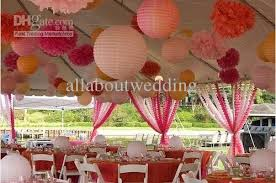 Tissue Balls Party Decorations Free Sipping Colorful Tissue Paper Flower Ball Tissue Paper Pom 16