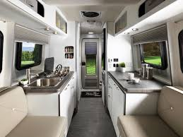 Used barefoot caravan for sale Trailer The Nest Trailer Is Built To Sleep Two Has Kitchen With Two Burner Worktop And Microwave And Shower Room Airstreams New Nest Camper Is Cute And Practical Wired