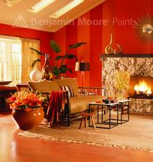 Red Living Room Orange And Red Living Room Benjamin Moore Room Photography Flickr