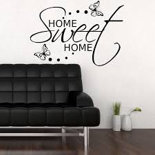 Small Picture Home Sweet Home Wall Sticker Art Room Gift Decal Mural Transfer