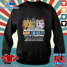 See more of los angeles lakers on facebook. Los Angeles Lakers And Los Angeles Dodgers Los Angeles City Of Champions 2020 Nba Finals Champions 2020 World Series Champions Shirt Sweater Hoodie And Long Sleeved Ladies Tank Top