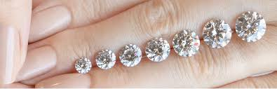 diamond nexus size chart the diamond carat size chart