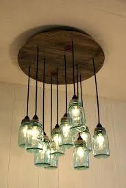 pottery barn jar chandelier mason pottery barn ball jar chandelier