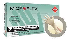 Microflex L97 Glove E-grip Latex Free Powder Exam