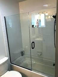 tub shower doors tub and shower doors bathtub glass door install glass shower doors