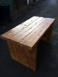 chunky scaffold board table