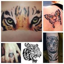 La Tigre Tatuaggio Che Rappresenta Forza E Coraggio Sabry