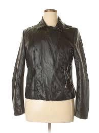 pin it pin it on covington women faux leather jacket size xl