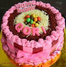 Red Velvet 5th Bday Cake Untuk Qori Dapur Saucha