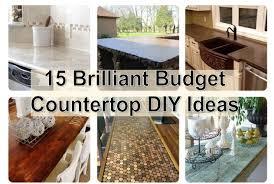 brilliant budget countertop diy ideas kitchen countertop ideas on a budget popular ikea butcher block countertops