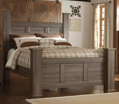 Driftwood Rustic Modern 6 Piece Queen Bedroom Set Fairfax