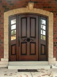 black single front doors. Accent And Wood Black Single Front Doors Door With Square Frosted Glass Royston Insert 687x933 Ideas M