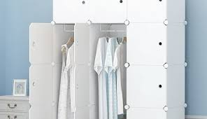 and tunisie metal coffret premag home ouedkniss toile portable wooden rangement light closet rack target frame