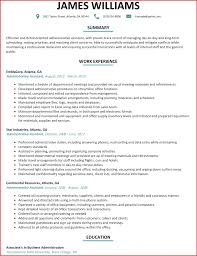 Executive Assistant Resume Objective Sample Template Australia