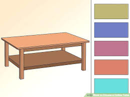 how to draw a coffee table image titled choose a coffee table step 3 hampton 2