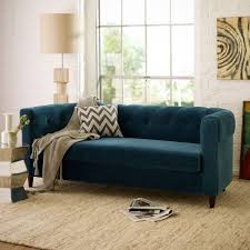 dress up a soft color with vivid accents blue living room furniture ideas