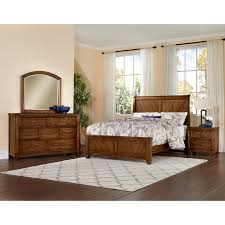 Vaughan Bassett Rustic Cottage Queen Bedroom Group - Item Number: 642 Q  Bedroom Group 3
