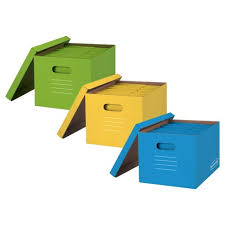 Paper filing boxes Container Store Target Bankers Boxes Storage Boxes 3ct Multicolor Target