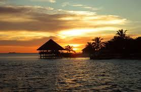 Hasil gambar untuk maldive sunset