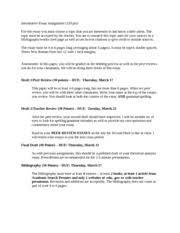informativeessay erin bernaciak informative essay polar bears  1 pages informative essay assignment