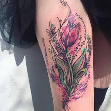 Tetování Tulipán Tetování Tattoo