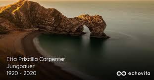 Etta Priscilla Carpenter Jungbauer Obituary (1920 - 2020) | San Diego,  California