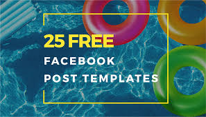 Staying Trendy 25 Free Facebook Post Templates Crello Blog