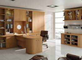 contemporary study furniture. contemporary fitted home office in natural oak study furniture o