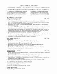 Lowes Resume Sample Lowes Resume Sample Fresh Cover Letter Store Manager Estate 6