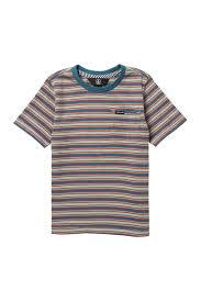 Volcom Big Boy Size Chart Volcom Moore Stripe T Shirt Toddler Boys Little Boys Hautelook