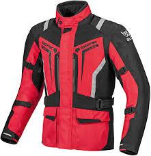 berik touring motorcycle jacket black red jackets berik leather suits affordable