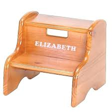 2 step wooden step stool unfinished wooden step stool wood step stools real wood step stool