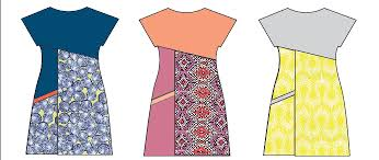 A Line Dress Pattern Interesting Asymmetric Aline Dress Sewing Pattern Design Your Own Sew