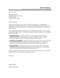 Finance Cover Letter Example Finance Cover Letter Example Sales
