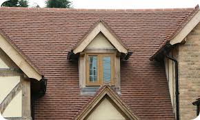heritage clay roof tiles roof with tiled dormer