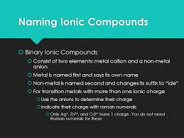 Compounds. Know Your Periodic Table Transition Metals Metals ...