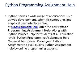 python programming assignment help python assignment experts 3 python programming assignment