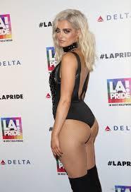Bebe Rexha Bikini Selfie and Sexy Oops Photos PureCelebs