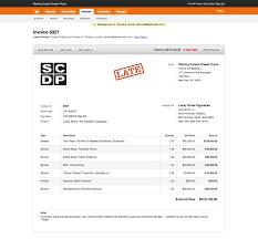 Web Invoice invoice for web design Ninjaturtletechrepairsco 1