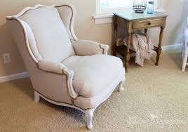 charming diy upholstered wingback chair images decoration ideas