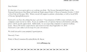 Letter Sponsorship Inspiration Example Of A Short Sponsor Letter Sponsorship From Company To