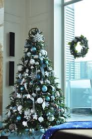 christmas trees decorated in blue. Interesting Blue DTWinter550jpg And Christmas Trees Decorated In Blue M