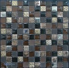 glass stone mosaic tile glass stone metal blend mosaic tiles 1 x 1 cutting glass stone