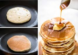 Simple Fluffy Pancakes