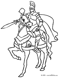 Printable Coloring Pages horse coloring pages to print for free : Knight Coloring Pages Knight On Horse Coloring Page Free Printable ...