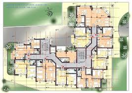 Apartment Building Plans Design Interesting Design Inspiration